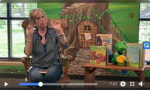 clickable link to children story time with ms. kathy.