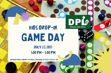 Children's Drop-In: Game Day