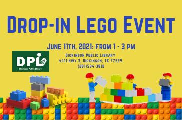 Children's Drop-In: Legos