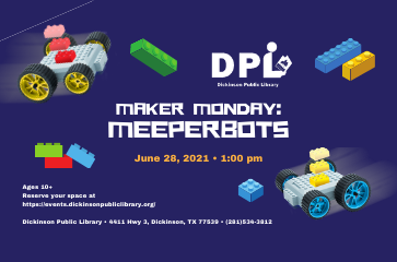 STEM Maker Space Mondays- Meepers