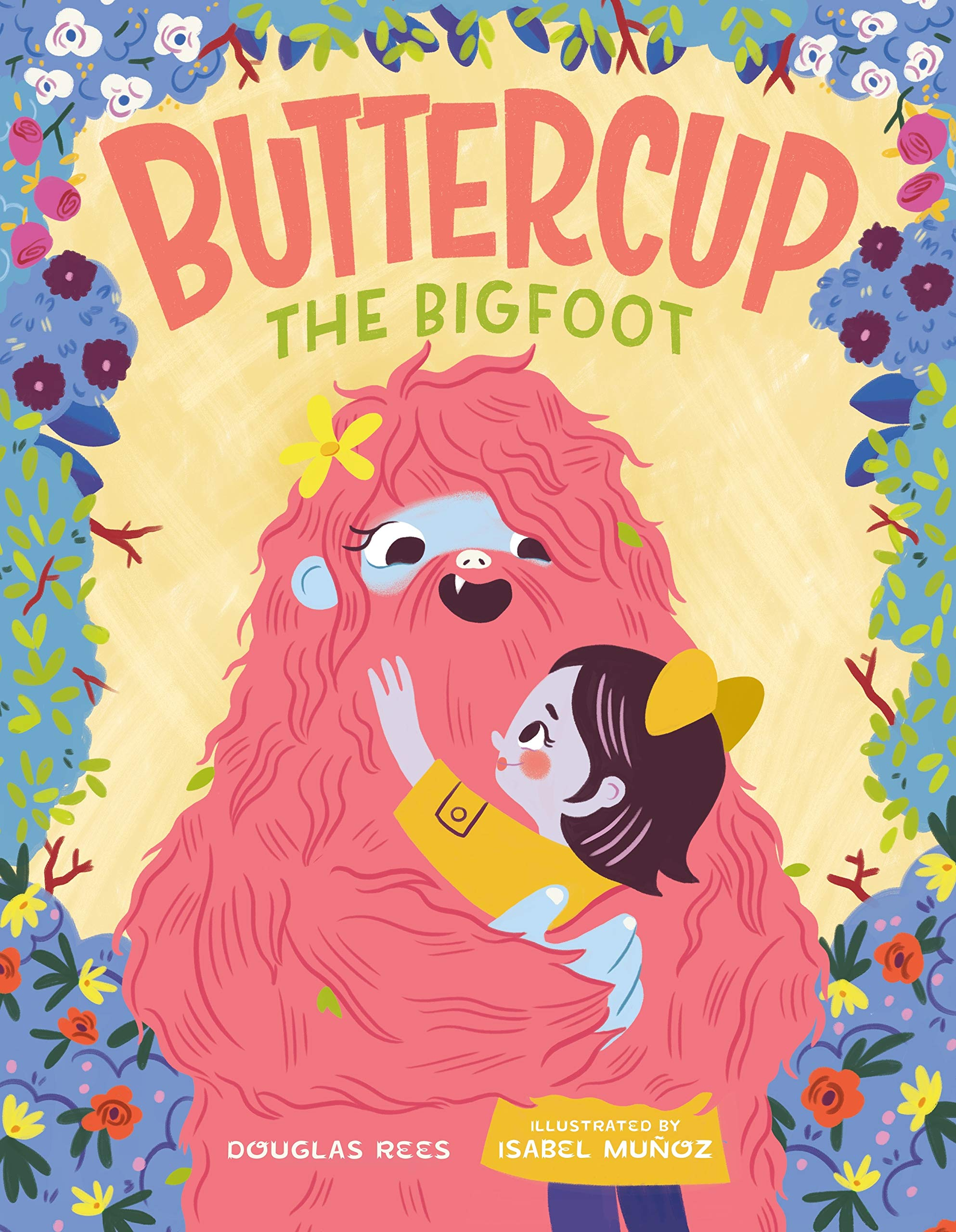 Buttercup the Bigfoot