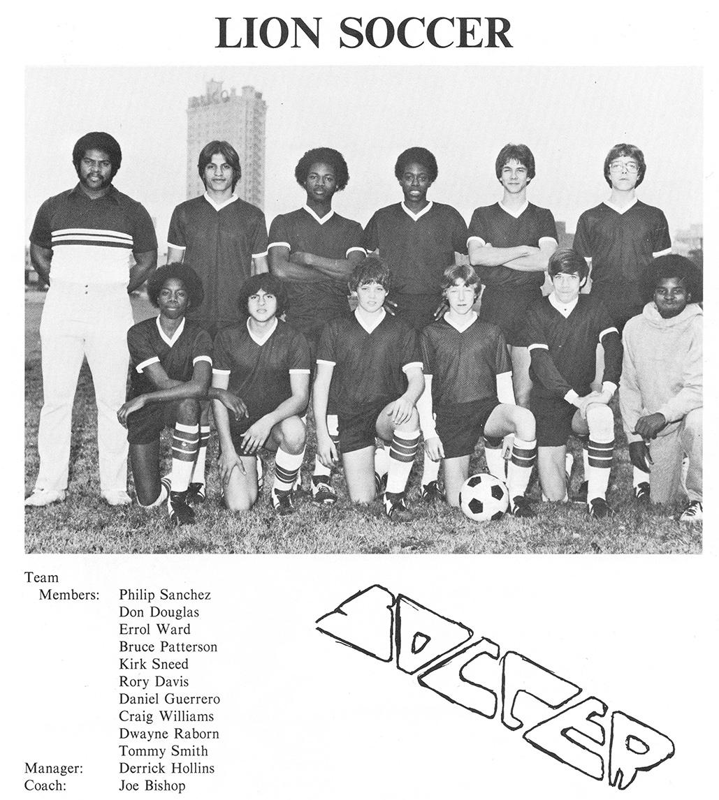 Moore High Soccer 1982