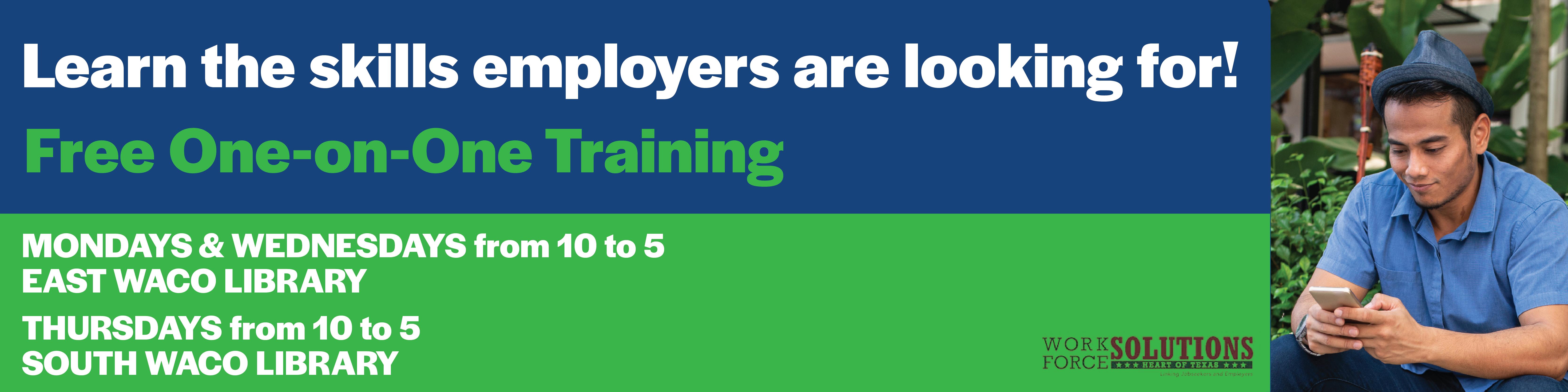 Free Job Skills Training
