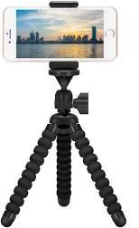 ZTON Mini Cell Phone Flexible Tripod Holder