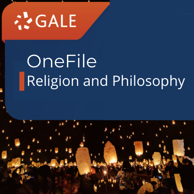 Gale OneFile Religion and Philosophy Link