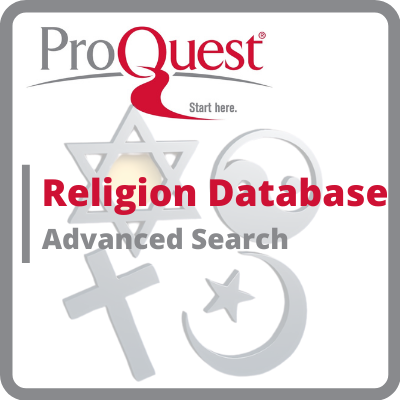 Proquest Religion Database link