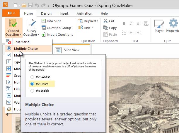Quizmaker Add Question