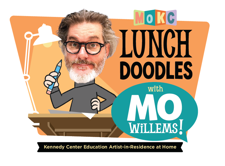 Lunch Doodles with Mo Willems logo