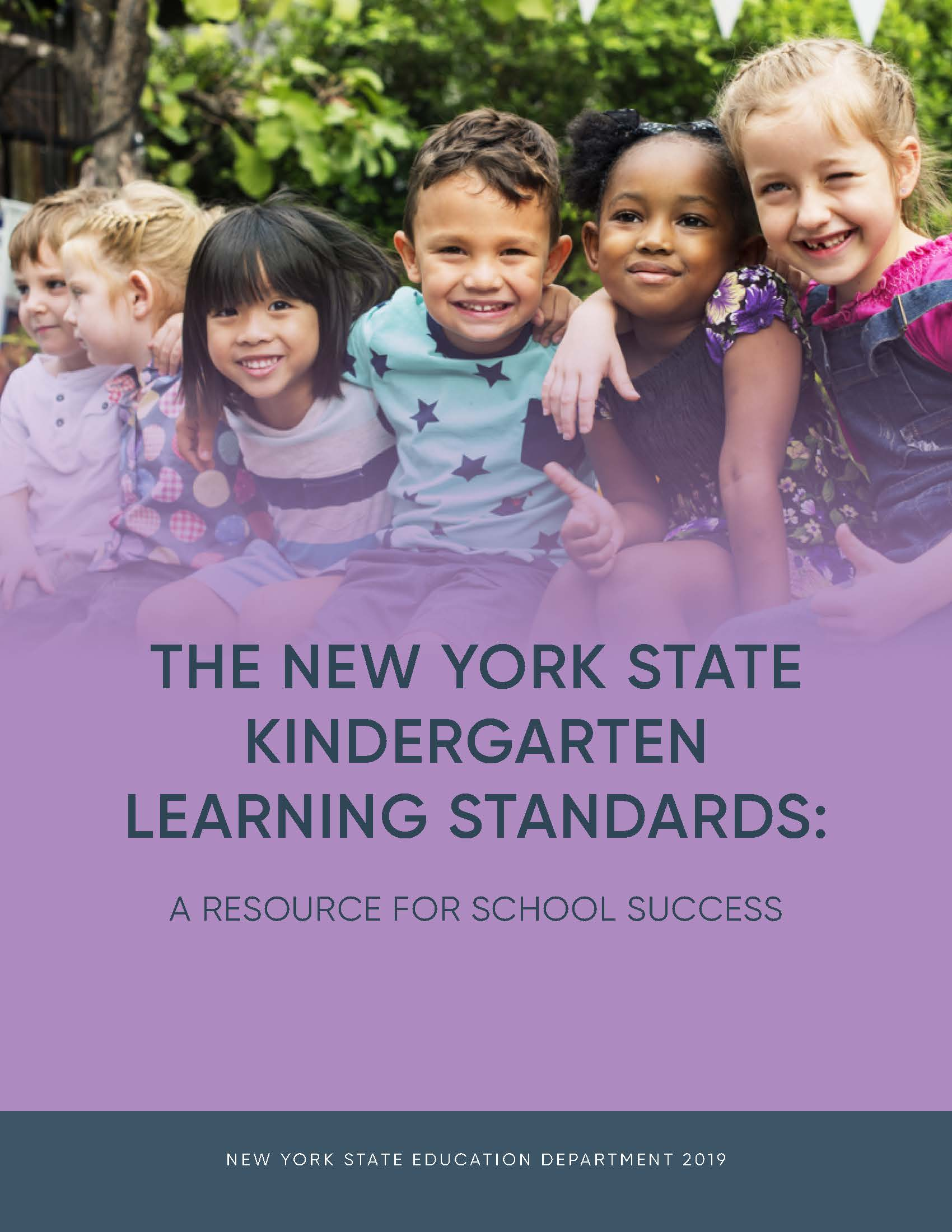 kindergarten learning standards