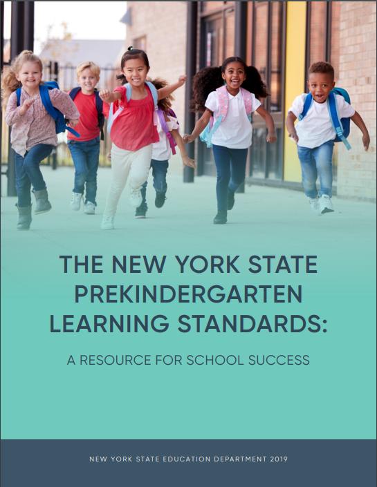 nys pre kindergarten learning standards