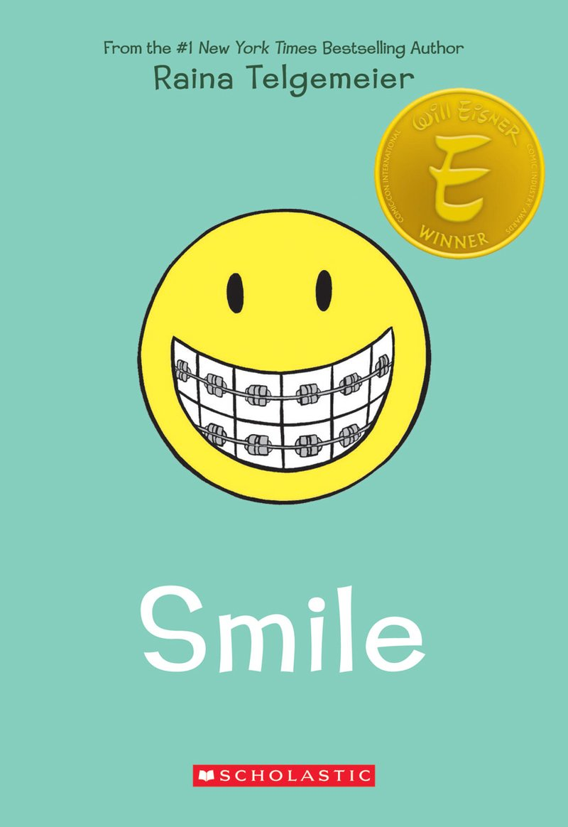smile graphic novel cover