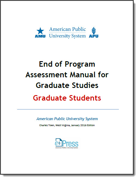 EOP MANUAL GRADUATE STUDENTS COVER