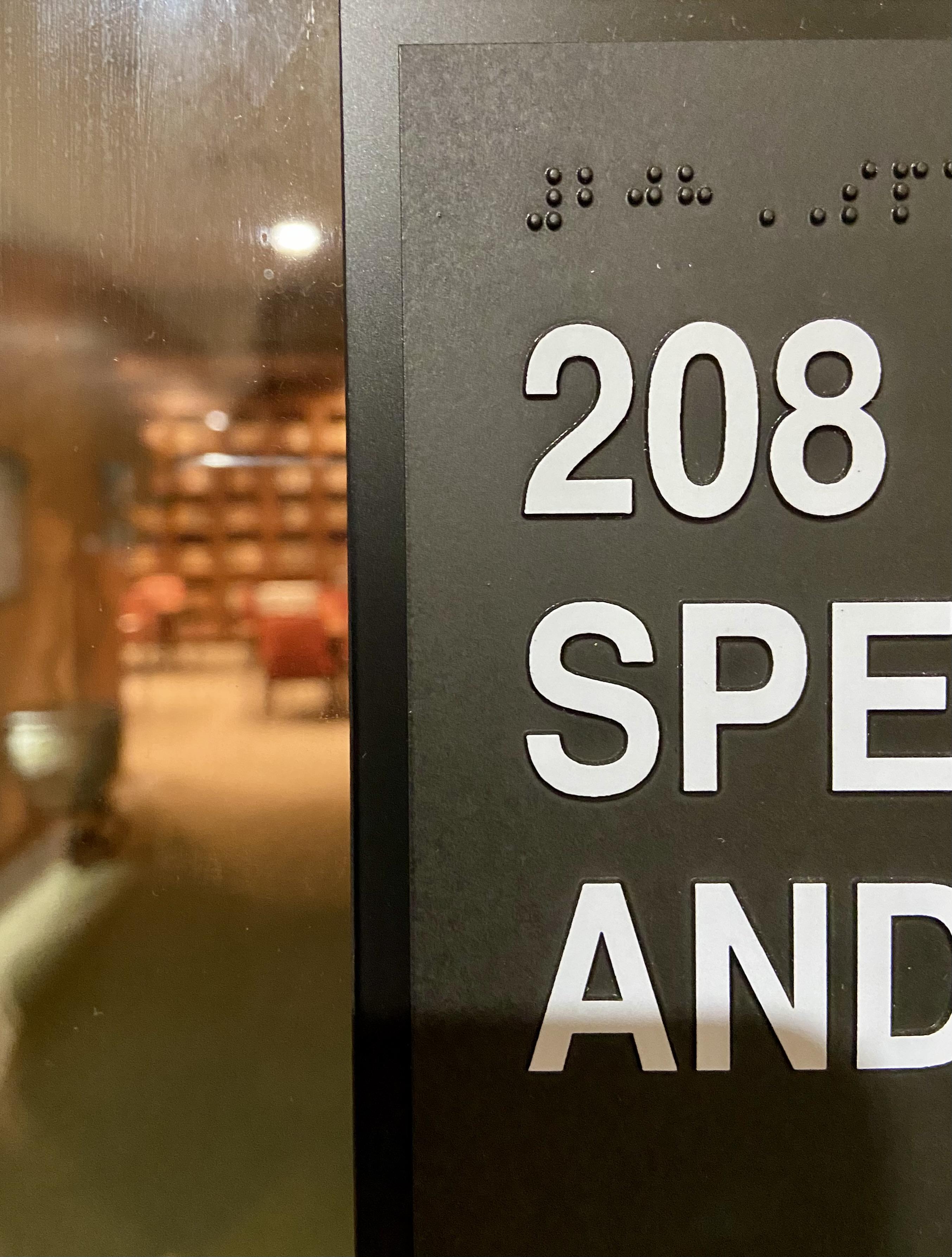 room number 208
