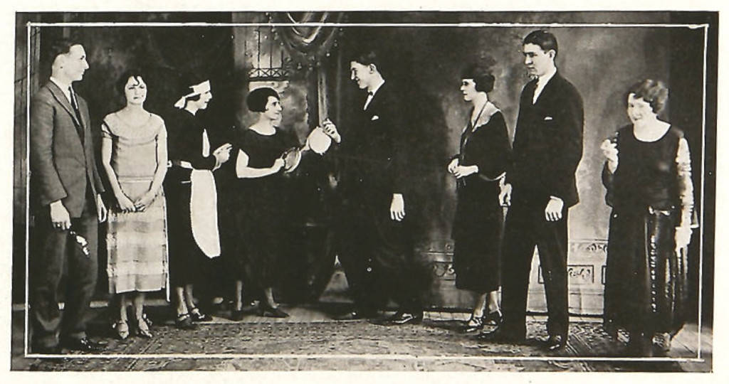"""Cast from """"Clarence"""" by Booth Tarkington"""