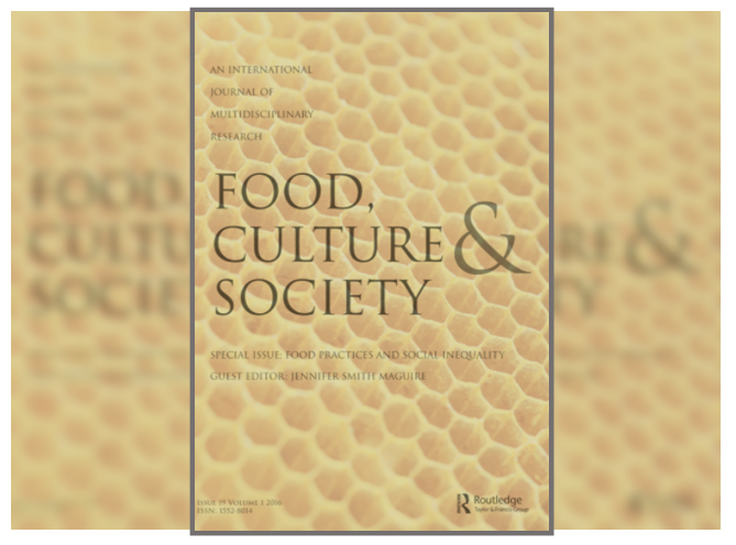 Cover of Food culture & society