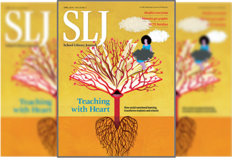 Cover image of a School Library Journal issue
