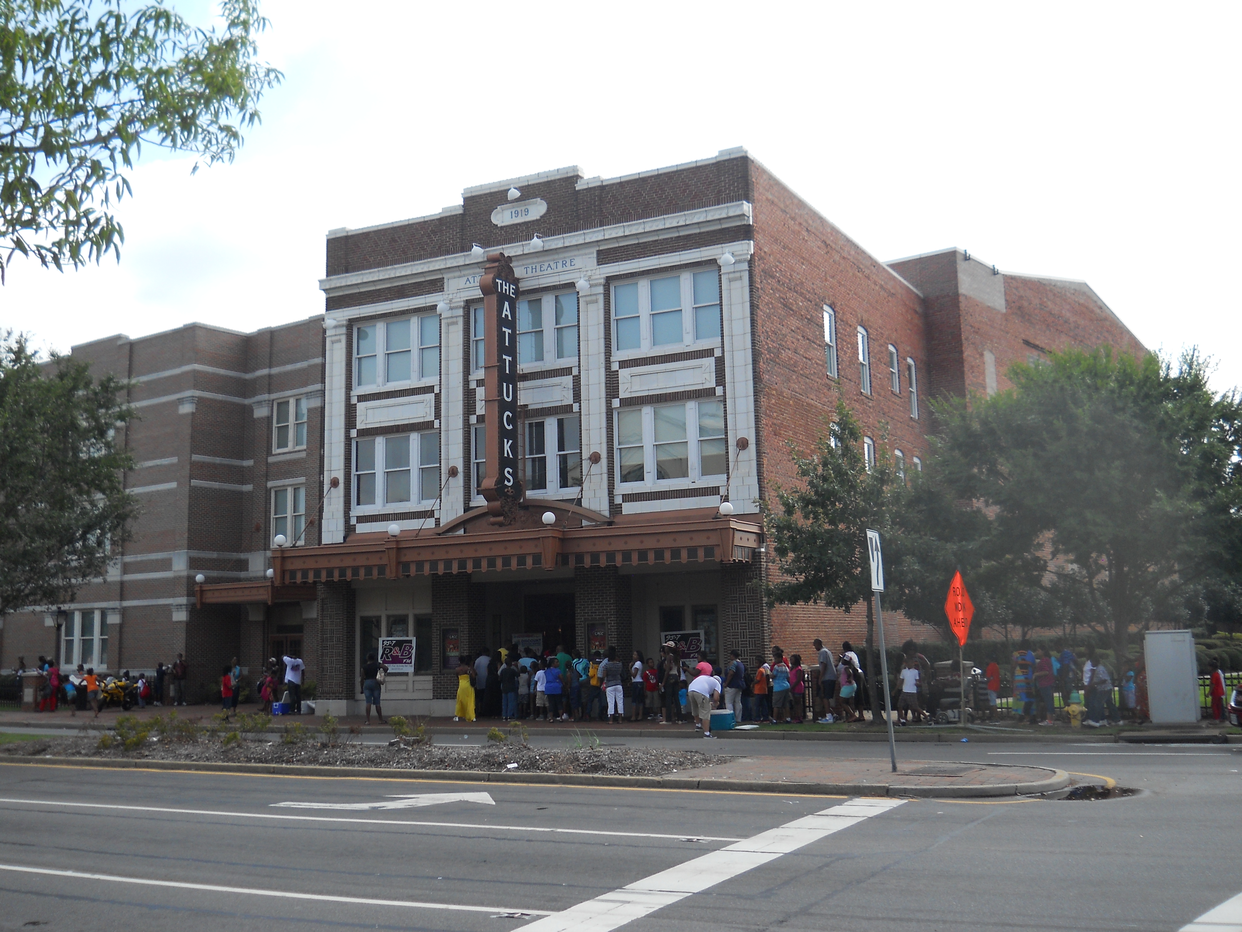 Attucks Theatre, Norfok, VA