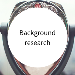 Go to background research.