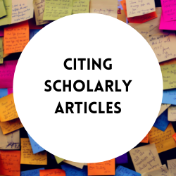 Go to citing scholarly articles.