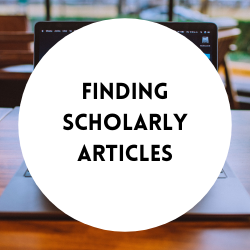 Go to finding scholarly articles.
