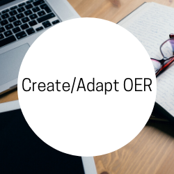 Go to Create/Adapt OER.