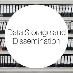 Go to data storage and dissemination.