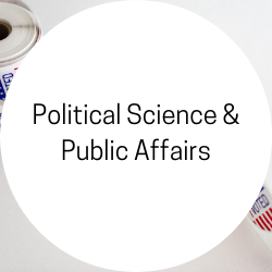 Go to Political Science and Public Affairs.