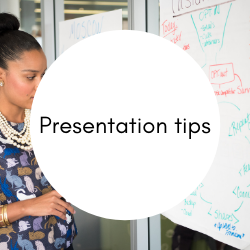 Go to presentation tips.