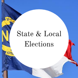 Go to state and local elections.