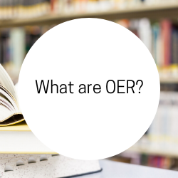 Go to What are OER?