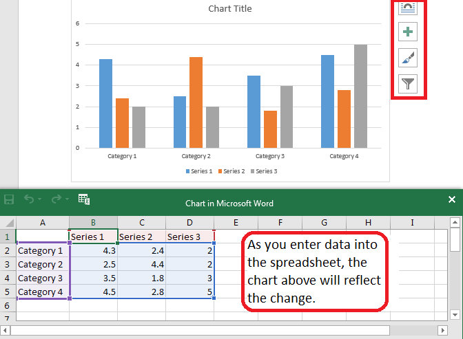 screenshot of a chart in Microsoft Word