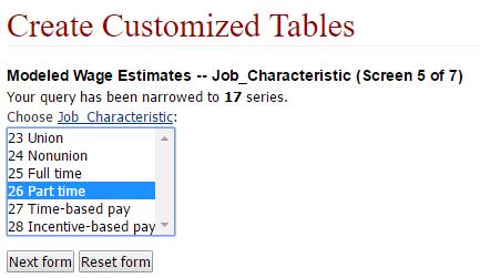 NCS Create Customized Table