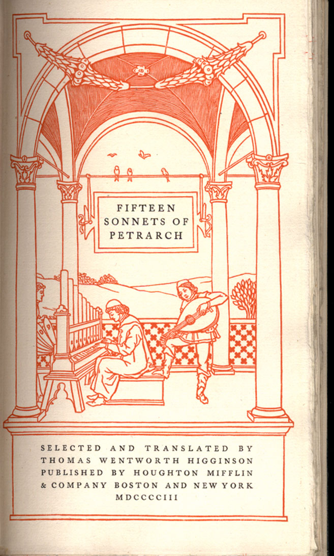 15 sonnets of Petrarch