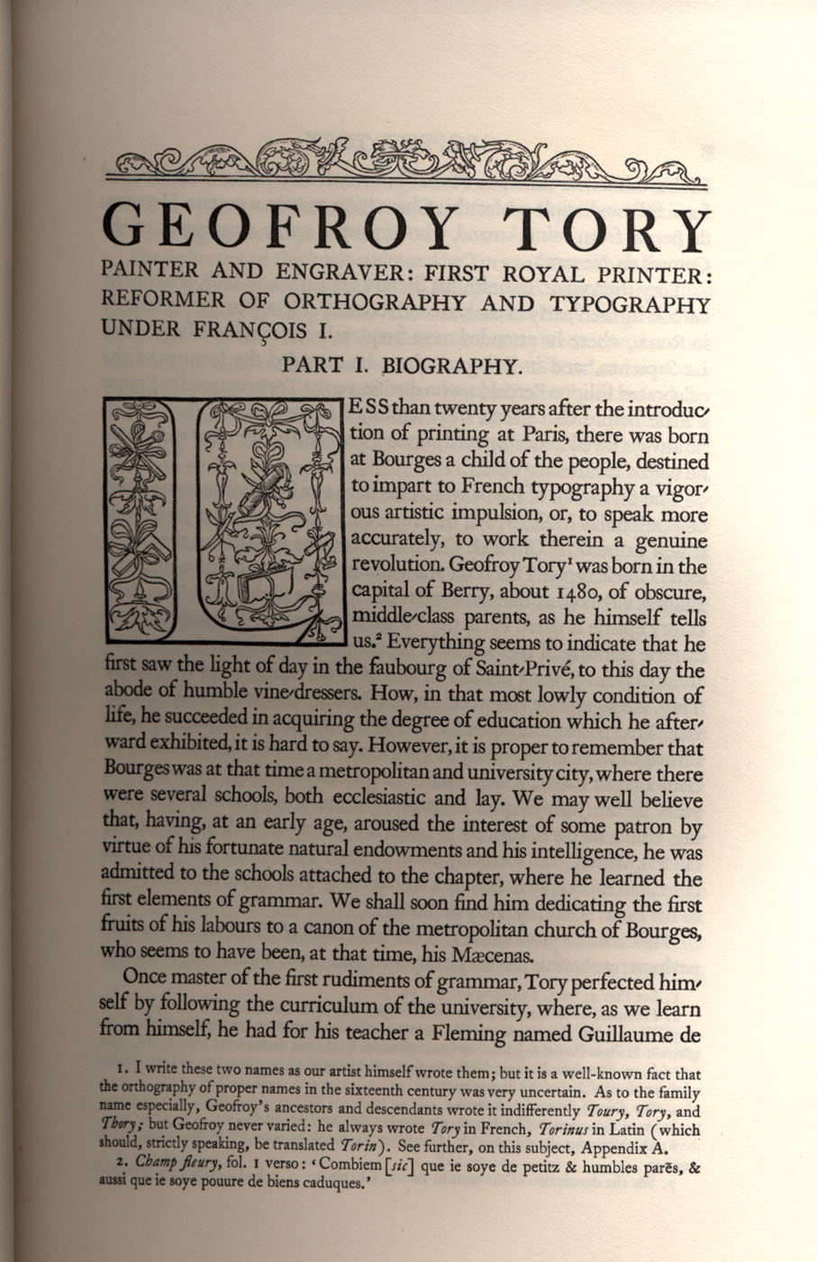 Geofroy Tory