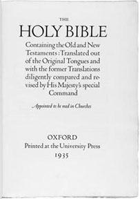 Bruce Rogers Lectern Bible