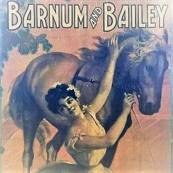 Barnum and Bailey promotional poster image