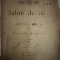 Image of the Salon de 1890 title page