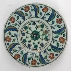 Majolica Syrian plate