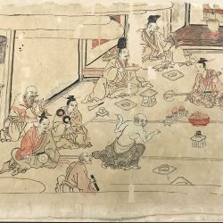 Image from a Japanese scroll