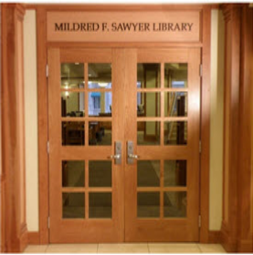 Front Doors of the Library