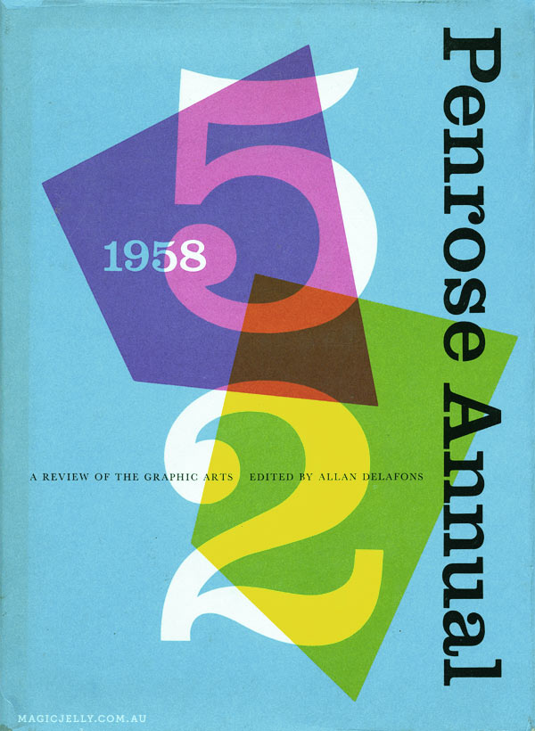 Cover of the Penrose Annual for 1958