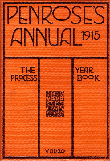Cover of Penrose's Annual for 1915