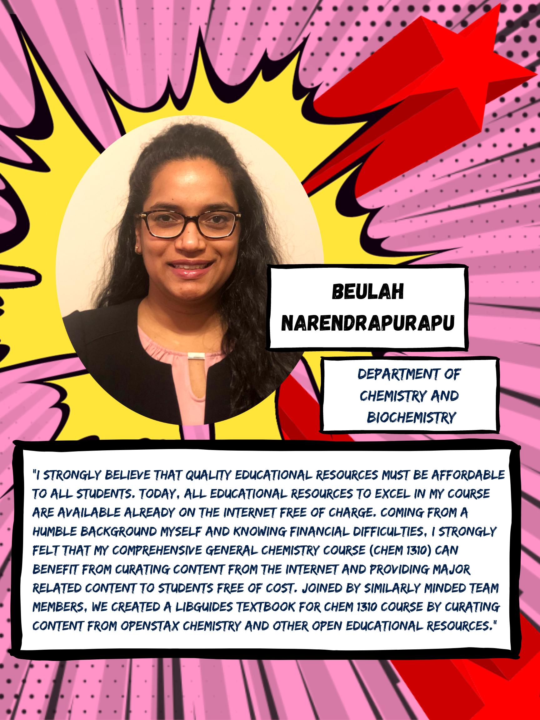 OER Heroes Beulah Narendrapurapu