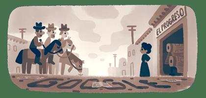 Google Doodle showing Jovita Idar