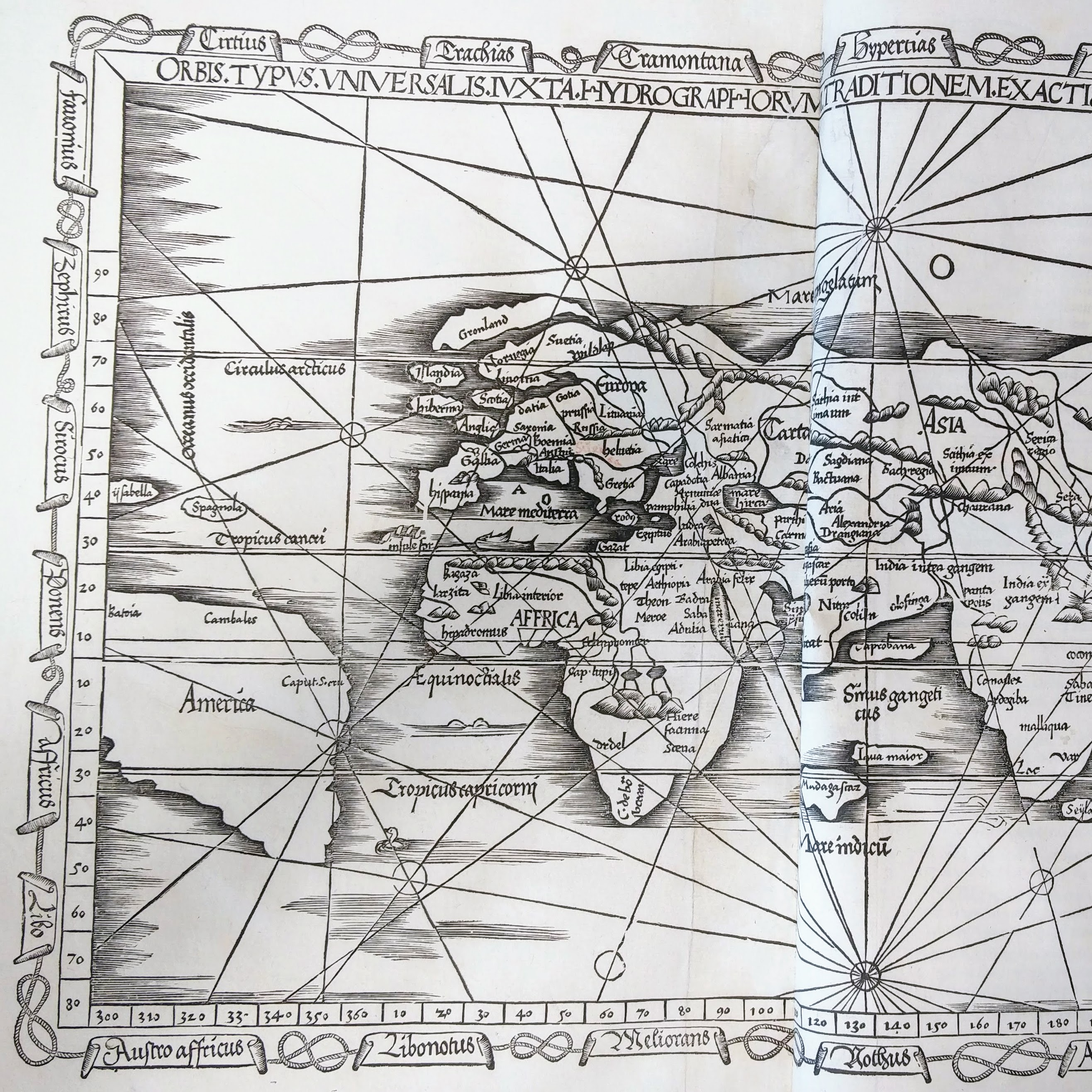 Atlas showing America