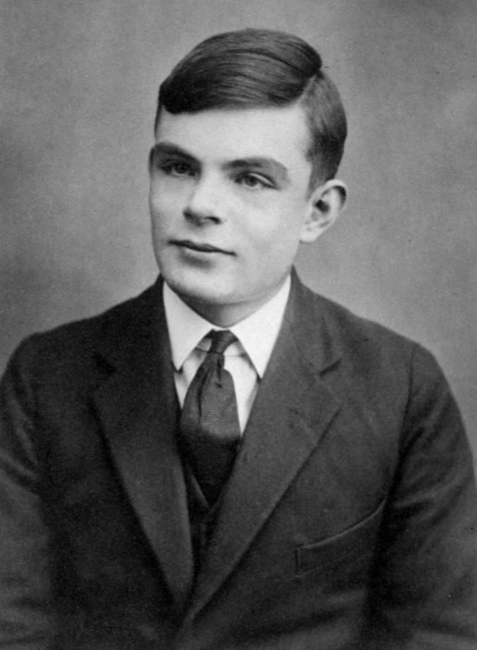 Alan Turing, Aged_16