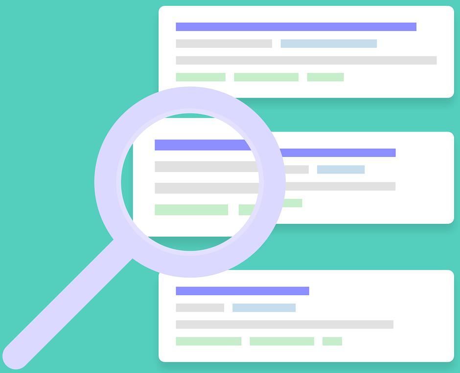 Icon representing online search