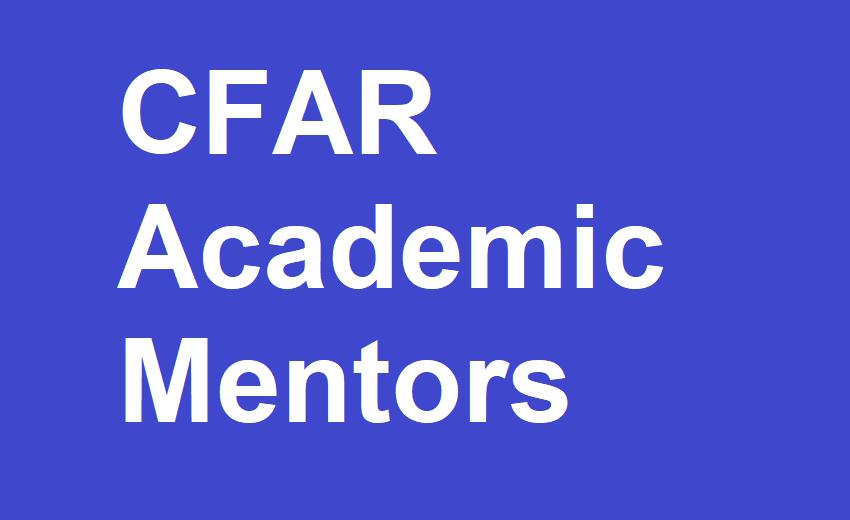CFAR Academic Mentors