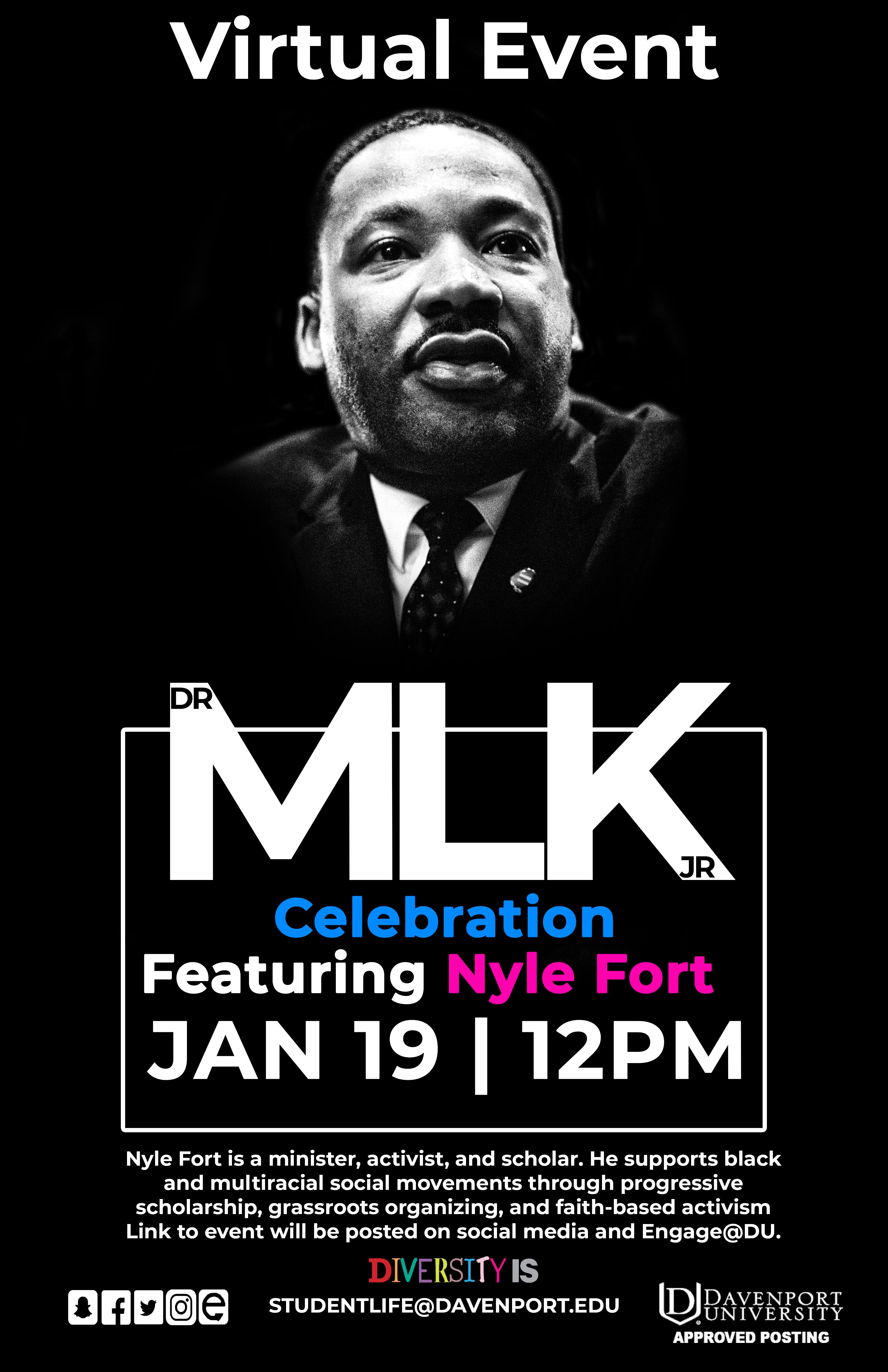 MLK Day Flyer 2021