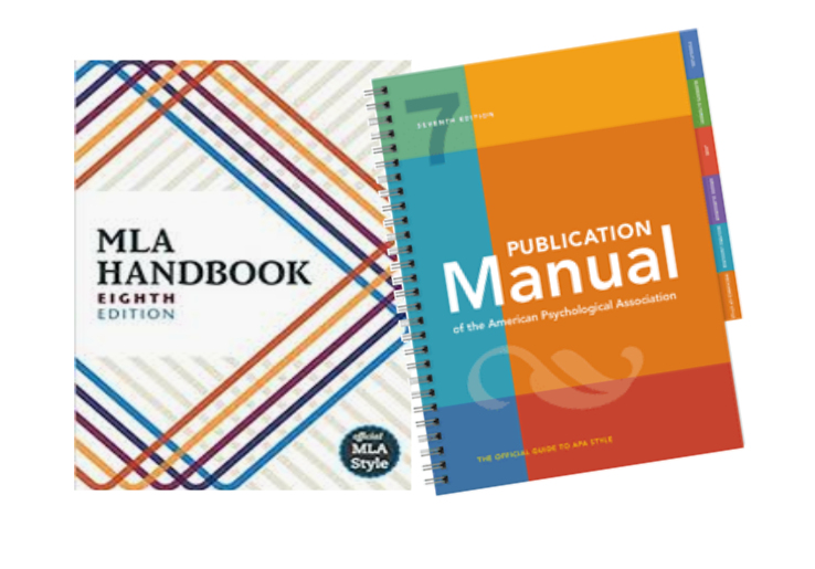 Image of MLA and APA Handbooks
